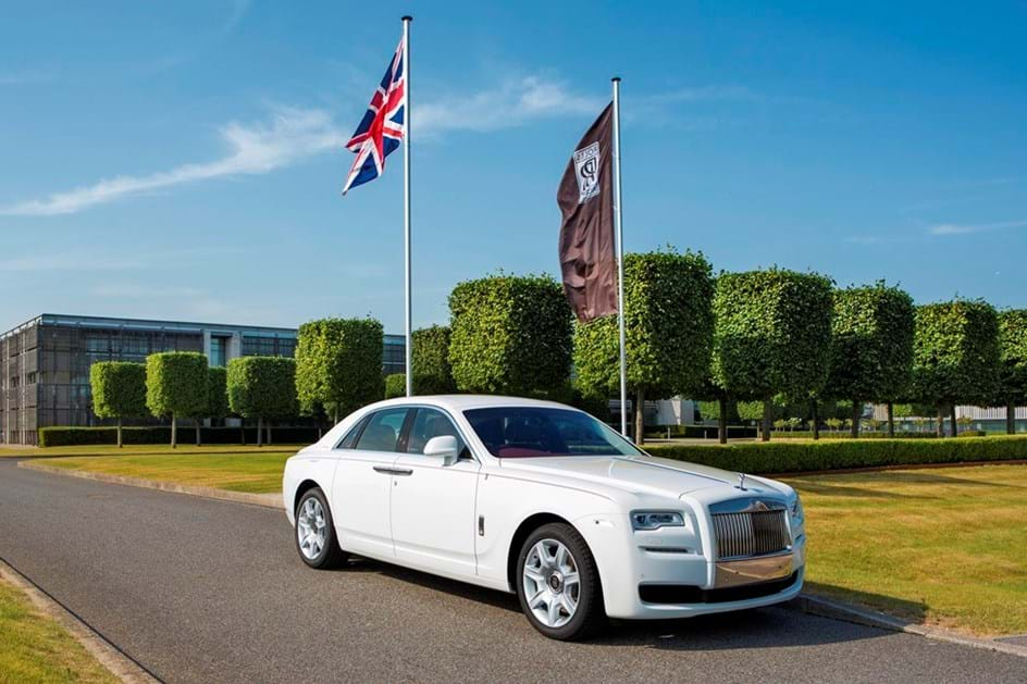 Rolls Royce em alta