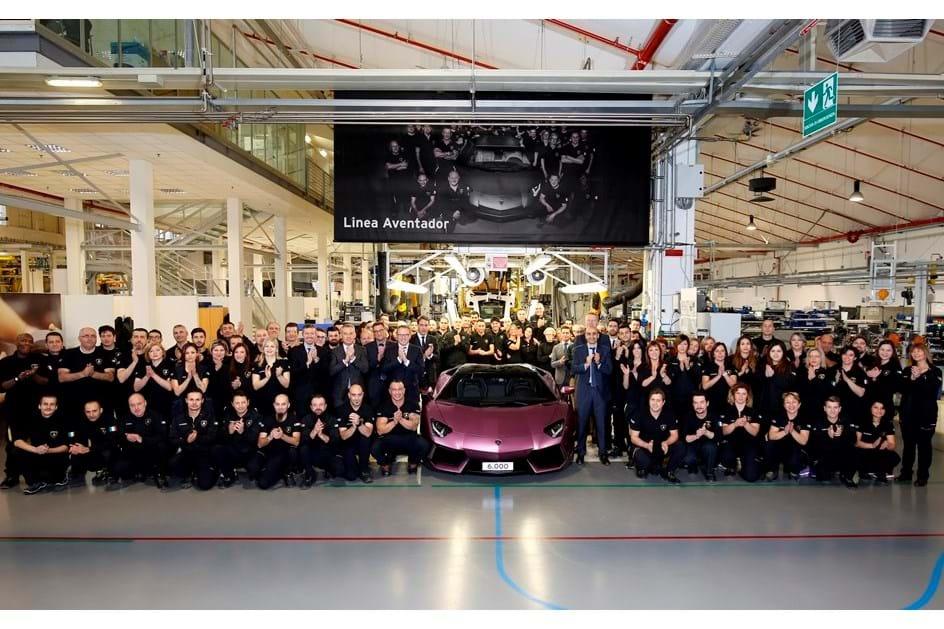 Lamborghini teve ano recorde em 2016