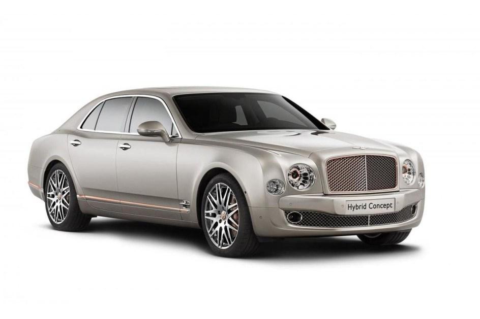 Até a Bentley se rende aos híbridos!