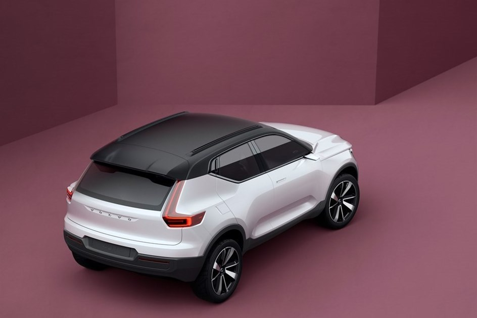 Volvo XC40 vai ser apresentado em Abril