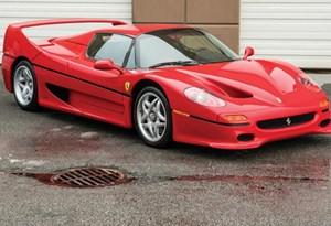 Ferrari F50 de Mike Tyson vai a leilão!