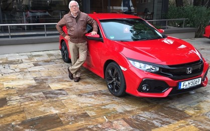 Guiámos o novo Honda Civic, que já tem preços