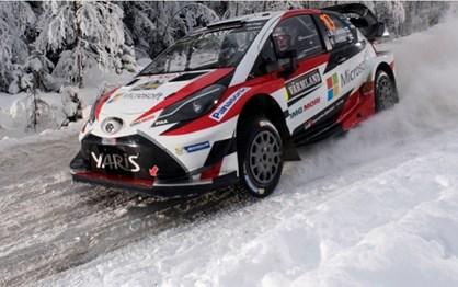 WRC Suécia: As melhores imagens de um Rali onde Latvala fez história