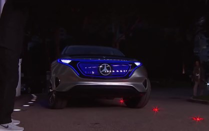 """Mercedes Generation EQ brilhou na """"red carpet"""" dos prémios Laureus"""