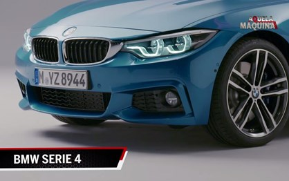 O que vai mudar no novo BMW Série 4?