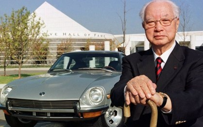 HOJE HÁ 2 ANOS: morreu o pai do Datsun 240 Z