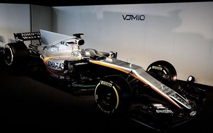 """Force India já mostrou a """"máquina"""" para a época de 2017!"""