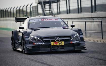 Mercedes-AMG C 63 DTM faz testes em Portimão