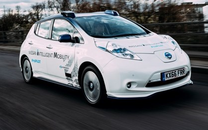 Nissan já anda a testar veículos autónomos em Londres