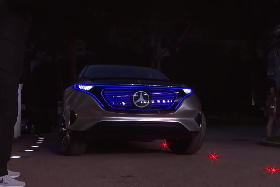 "Mercedes Generation EQ brilhou na ""red carpet"" dos prémios Laureus"