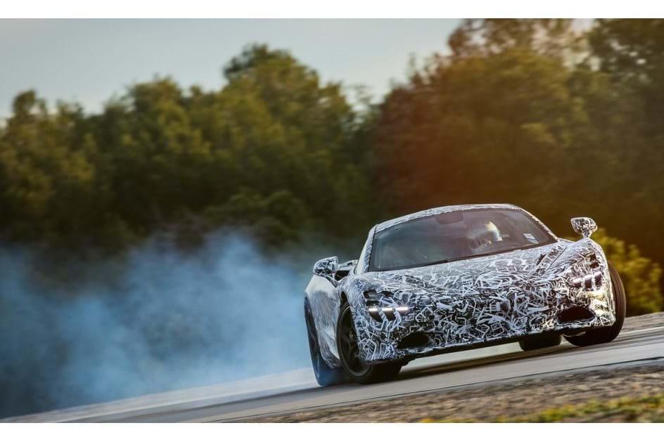McLaren 720s terá um novo motor V8 de 4,0 litros
