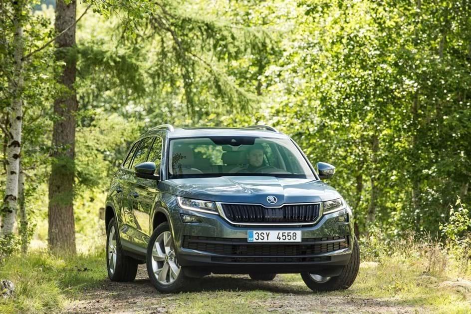 Skoda escolhe Algarve para acção de formação do SUV Kodiaq