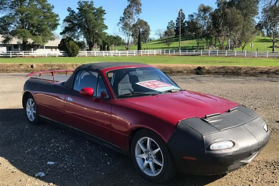 """Já conhece a """"pick-up"""" Mazda… MX-5?!"""