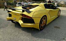 Habitante de Taiwan constrói Lamborghini Aventador… em papel!