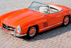 Mercedes 300 SL Roadster faz 60 anos