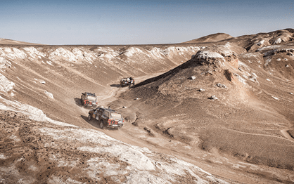 Silk Way Rally 2017: Peugeot contra todos