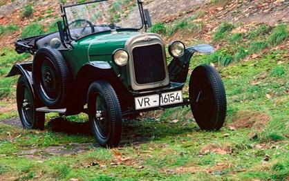 HOJE HÁ 92 ANOS: Opel 4/12 hp foi a Genebra
