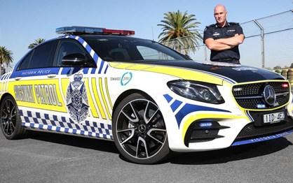 Mercedes-AMG E43 é a nova arma da polícia australiana