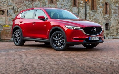 Mazda CX-5 chega em Maio com preços desde 33.300