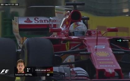 """F1: Veja Vettel a """"cortar"""" a meta no G.P. da Austrália"""
