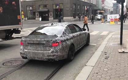 Andam três novos BMW M5 à solta na Noruega