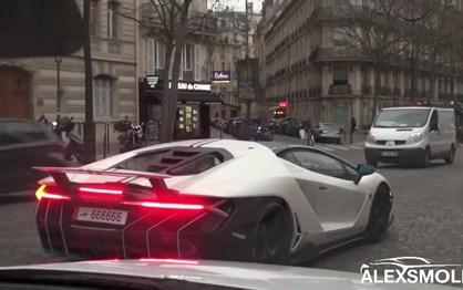 Lamborghini Centenario saiu à rua