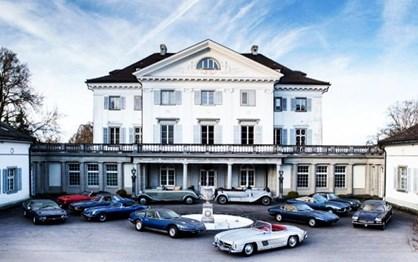 Dois milhões de euros de carros descobertos num castelo suíço!