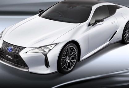 """Lexus LC ganhou """"kit"""" TRD e ficou ainda mais agressivo!"""