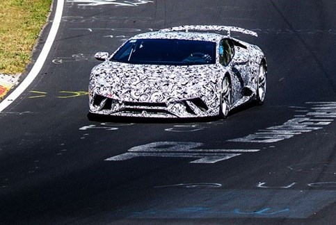 Lamborghini defende recorde do Nürburgring
