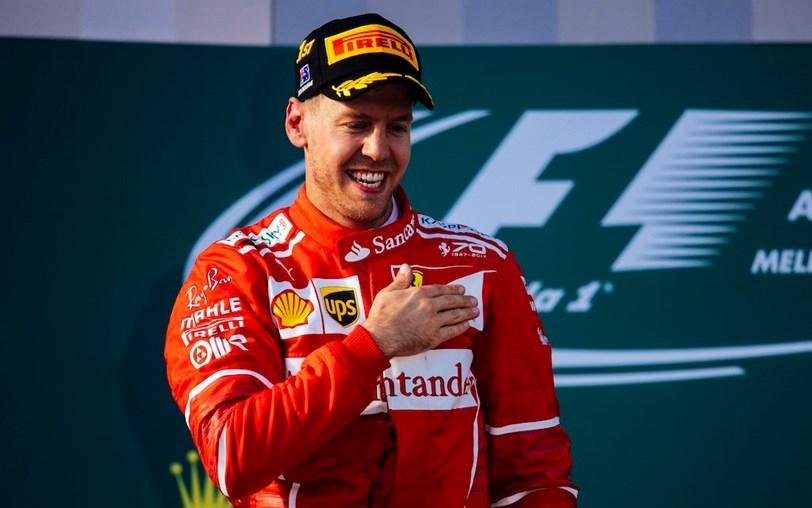 F1: Vettel e Ferrari vencem primeiro G.P. da temporada