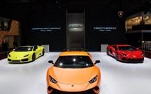 Lamborghini Huracán Performante e Aventador S visitaram Xangai