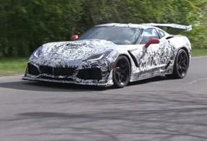 Novo Corvette ZR1 com mais de 750 cv