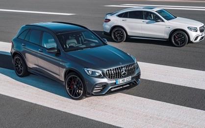 Mercedes ataca forte com quarteto de AMG GLC 63!