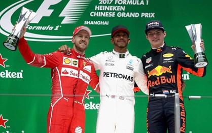 F1: Hamilton liderou do início ao fim no G.P. da China
