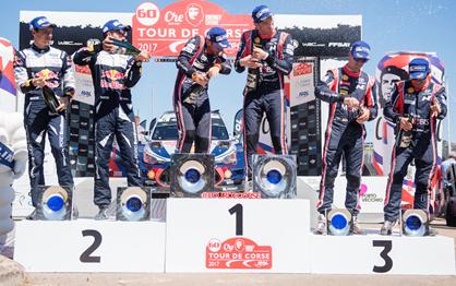 WRC: As melhores imagens da Volta à Córsega