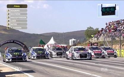 Mundial de Rallycross: Veja a corrida final que ditou a vitória de Ekstrom em Montalegre