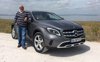 Mercedes GLA 180d em ensaio