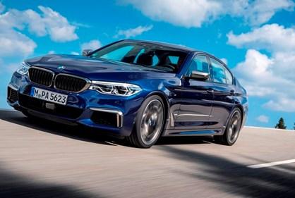 BMW M550i xDrive: o mais rápido Série 5 de sempre