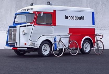 Citroen e Le Coq Sportif juntas para assinalar os 70 anos do furgão Type H