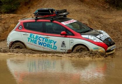 Nissan Leaf All-Terrain vai entrar no Mongol Rally