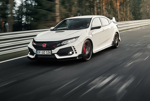 Honda Civic Type-R esmagou recorde do Nürburgring!