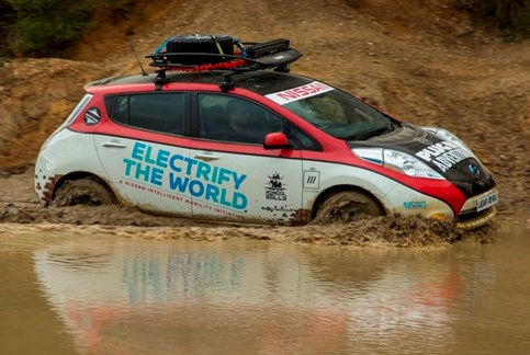 Nissan Leaf All-Terrain vai entrar no Mongol Rally
