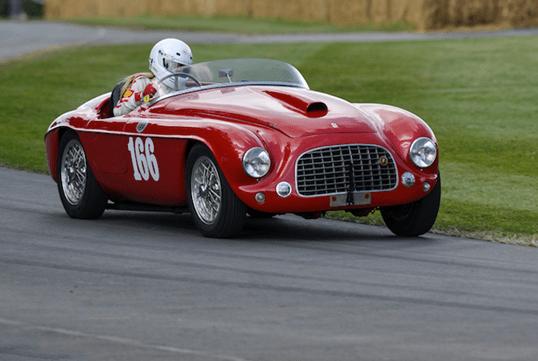 Septuagenária Ferrari será a estrela do Festival de Goodwood