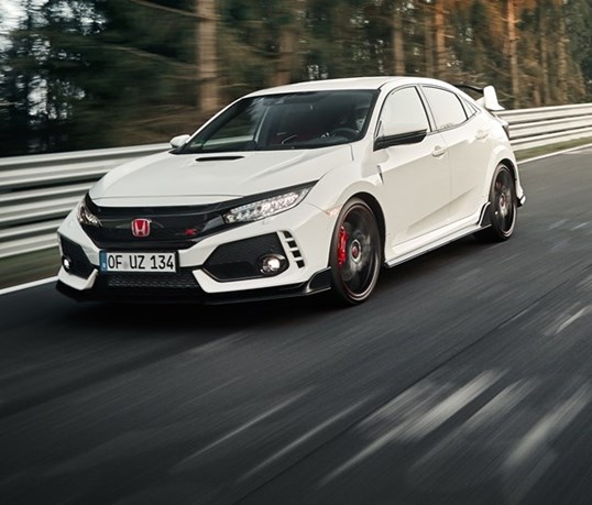 Honda Civic Type-R esmagou recorde do Nürburgring!
