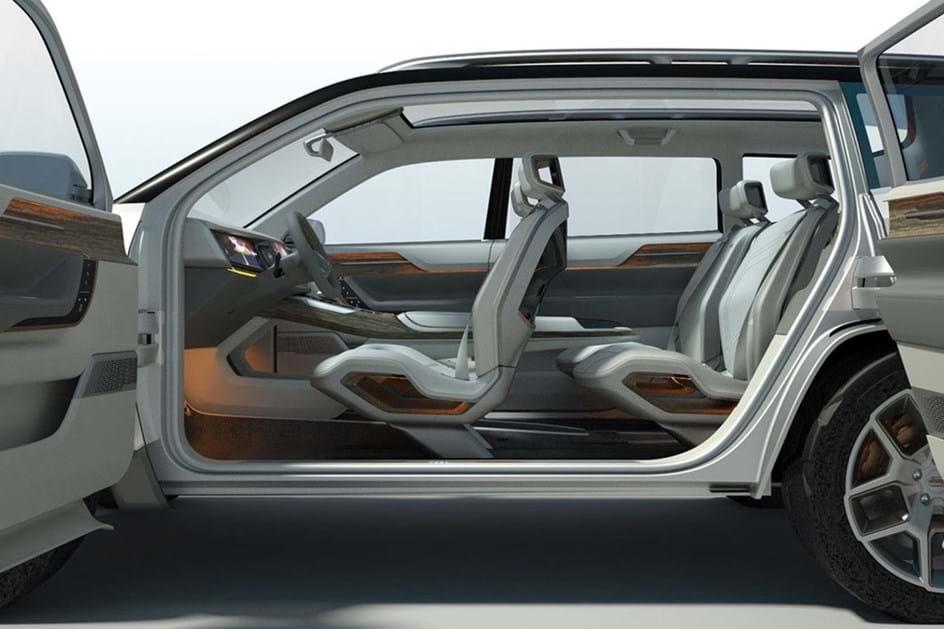 Jeep Yuntu Concept foi revelado em Xangai