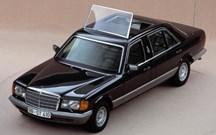 Mercedes 500 SEL - 1985 - Papa João Paulo II
