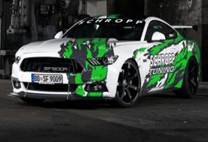 Schropp Tuning põe Mustang a debitar 800 cv