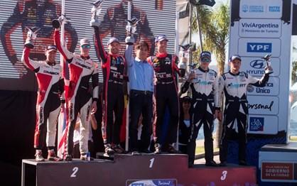 WRC: as melhores imagens do rali da Argentina
