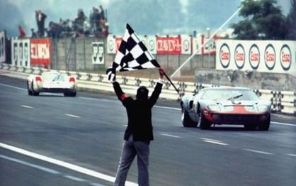 HOJE HÁ 48 ANOS: Vitória épica do GT40