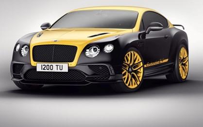 Este Bentley Continental só terá 24 unidades